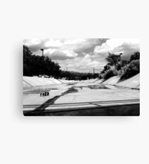 ditches in Abq Canvas Print