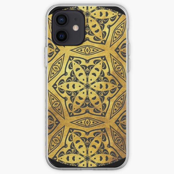 Golden Mandala 1 iPhone Soft Case