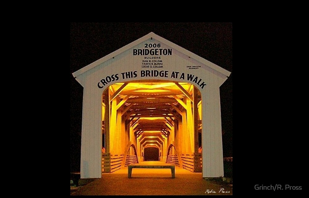 Bridgeton Covered Bridge, Bridgeton, Indiana by Grinch/R. Pross