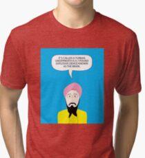 What under the Turban? Tri-blend T-Shirt