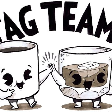 Tag Team! by briancookart