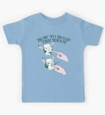 How To Boop The Snoot Kids T-Shirt