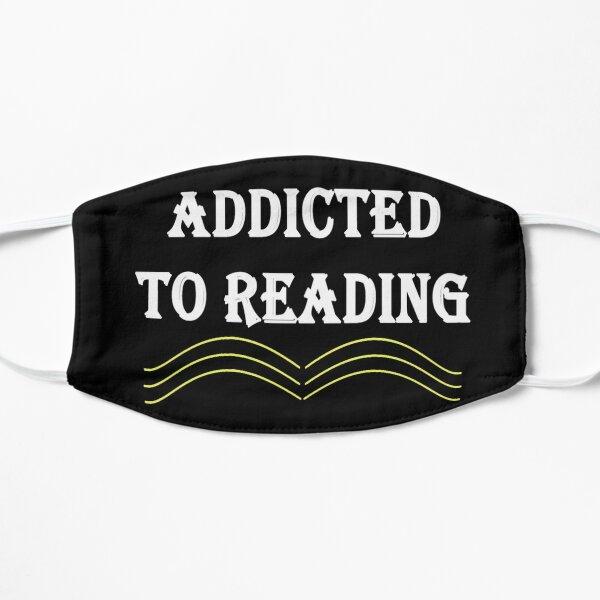 Süchtig nach Lesen Flache Maske