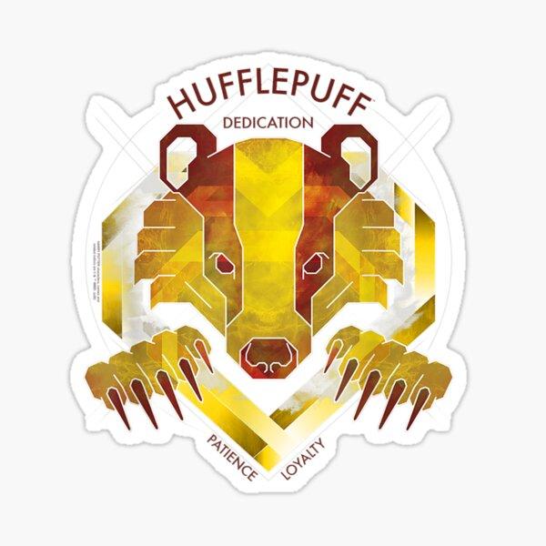 Hufflepuffzz Dedication Patience Loyalty Sticker