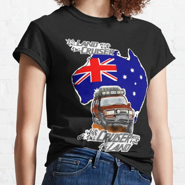 Landcruiser - Off Roading Australia 4 Classic T-Shirt