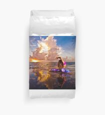 Sunrise Yoga Duvet Cover