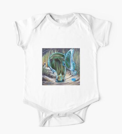 Glass african elephant Kids Clothes