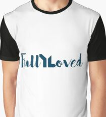 Fully Loved (navy) Graphic T-Shirt