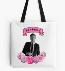Ross Marquand Flower Design Tote Bag