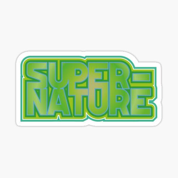 Super nature Sticker