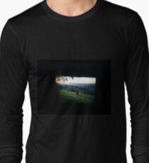 Through the viewfinder - Byron ranges Long Sleeve T-Shirt
