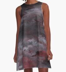 Sea of Blood, Leaden Sky A-Line Dress
