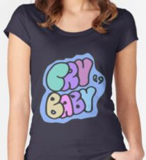 Zef - Cry Baby Women's Fitted Scoop T-Shirt