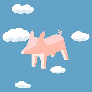 PIG ON THE WING by masterizer