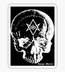 Baphomet Skull Sticker
