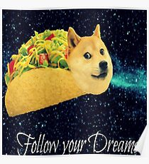 poster%2C210x230%2Cf8f8f8 pad%2C210x230%2Cf8f8f8.lite 1u2 doge meme posters redbubble