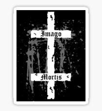 Double Cross Sticker Sticker