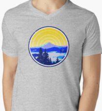 Vintage Golden Mountain Sunrise T-Shirt