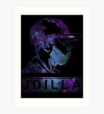 J Dilla Galaxy Poster  Art Print