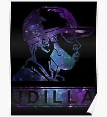 J Dilla Galaxy Poster  Poster