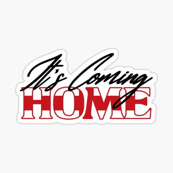 It's Coming Home - Football Sticker