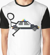 Fuck Police cool funny police car fucking icon Graphic T-Shirt