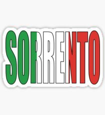 Sorrento. Sticker