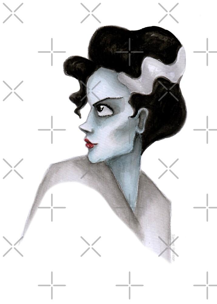 Bride of Frankenstein by HARETONart