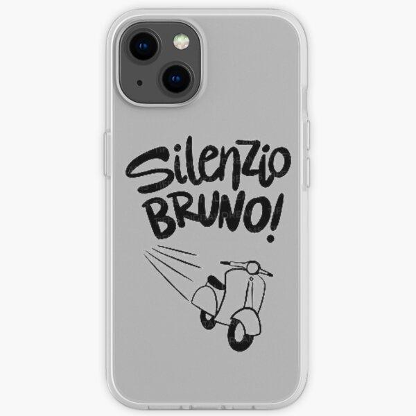 Silenzio Bruno and Vespa iPhone Soft Case