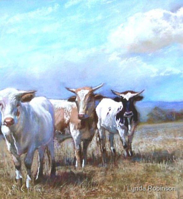 'Kefford's Cattle I' by Lynda Robinson