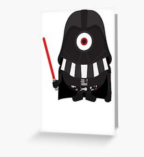 Vader Minion Greeting Card