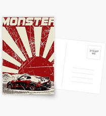 Nissan GTR monster Postcards