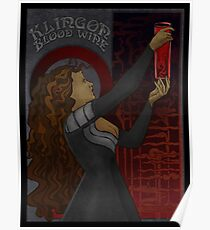 Klingon Blood Wine Poster