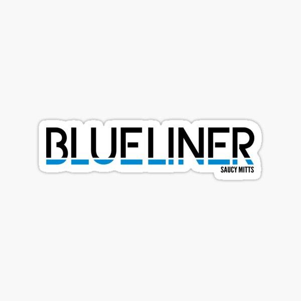 Hockey Blueliner Sticker