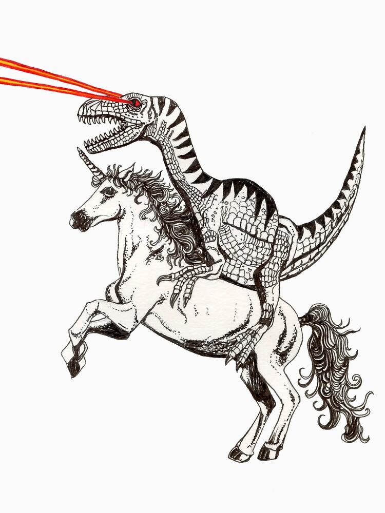 Raptor & Unicorn | Unisex T-Shirt