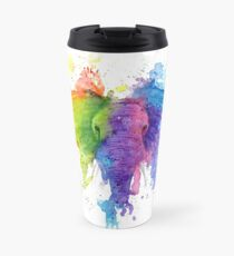 "Rainbow ""Father"" Elephant Travel Mug"