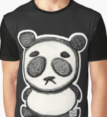 Little Sad Panda Graphic T-Shirt