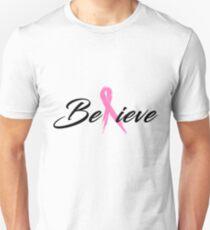 Krebsbewusstsein Slim Fit T-Shirt