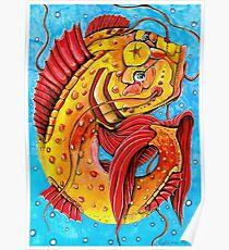 Glücksfisch Poster