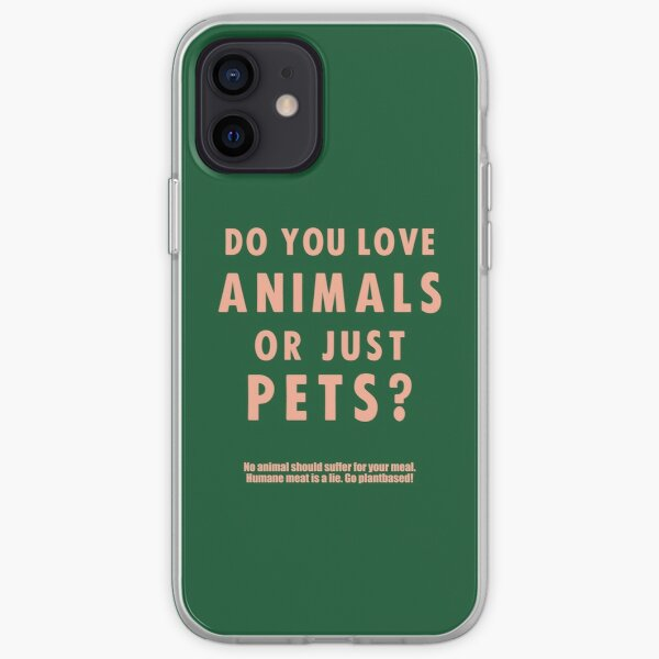 Do You Love Animals Or Just Pets? iPhone Soft Case