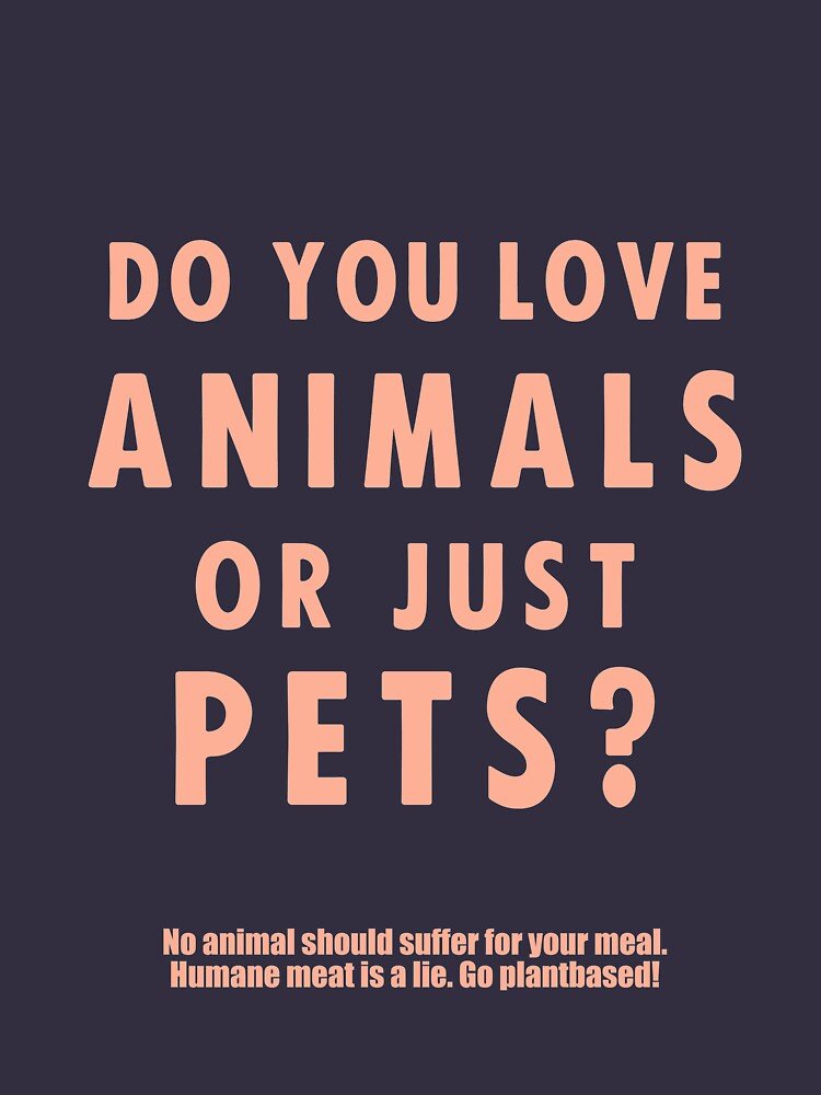 Do You Love Animals Or Just Pets? by katinkacares
