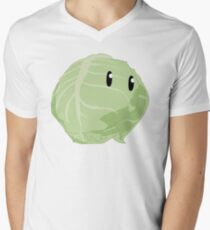 KonoSuba Cabbage Mens V-Neck T-Shirt