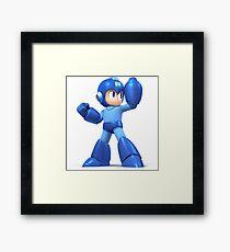 Mega Man Smash Brothers Wii U! Framed Print