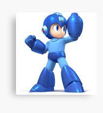 Mega Man Smash Brothers Wii U! Canvas Print