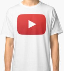 Youtube Play Button Classic T-Shirt