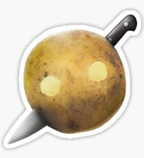 Knife Party Potato Sticker