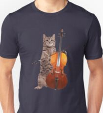 Cello Cat - Meowsicians Unisex T-Shirt