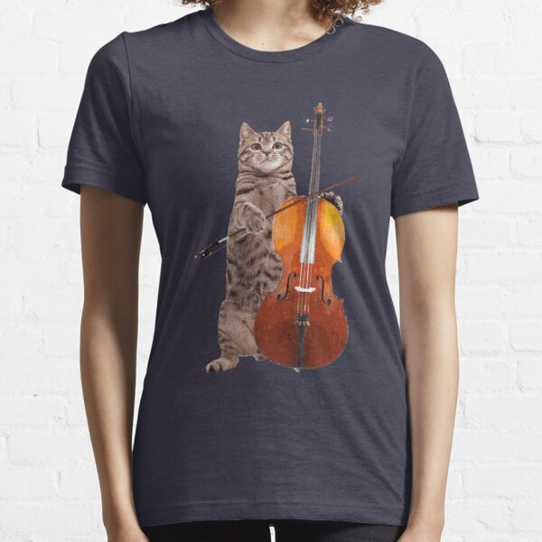 Cello Cat - Meowsicians Essential T-Shirt