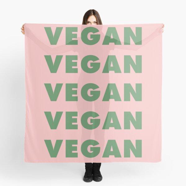 Vegan Vegan Vegan Vegan Scarf