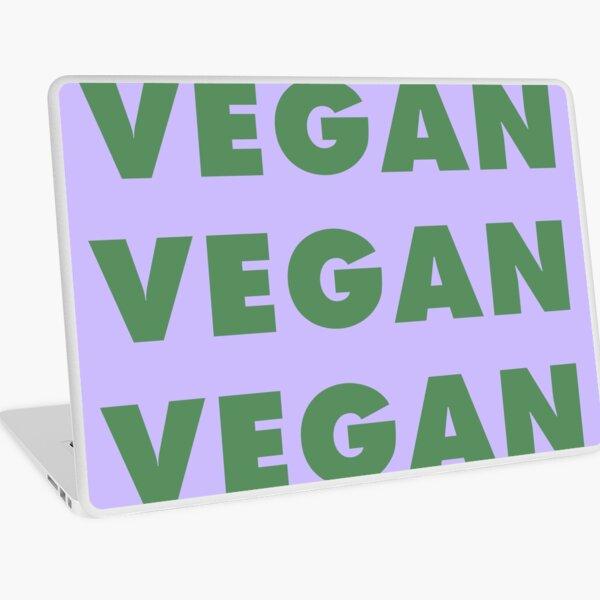 Vegan Vegan Vegan Vegan Laptop Skin